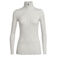 Oasis LS Half Zip Sky Paths Women Snow