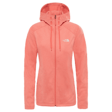 Tech Mezzaluna Hoodie Women SPICED CORAL WHITE HEATHR