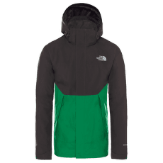 Mountain Light II Shell Jacket Men ASPHALT GRY/PRIMARY GREEN