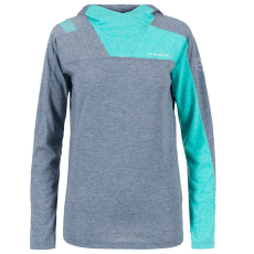 Terra Long Sleeve Women Opal/Aqua