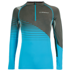 Castor Long Sleeve Men Carbon/Tropic Bl
