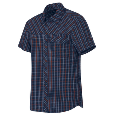 Asko Shirt Men marine-dark carmine 5834