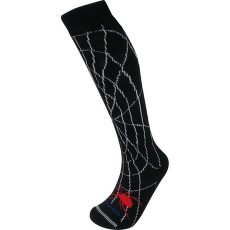 Merino Ski Kids spidey black