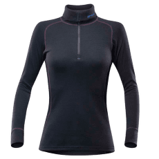 Duo Active Zip Neck Women 950 BLACK