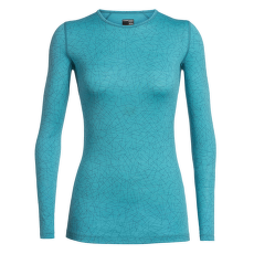 Oasis LS Crewe Sky Paths Women ARCTIC TEAL