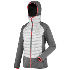 Hybrid Needles Hoodie Women METAL GREY/TARMAC