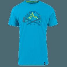 eac387fe16e6 Hipster T-Shirt Men Tropic Blue ...