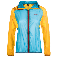 Briza Windbreaker Jacket Women Malibu Blue/Yellow