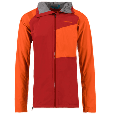 Run Jacket Men Chili/Pumpkin