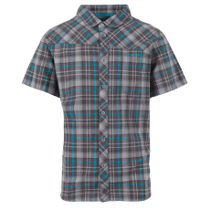 Pinnacle Shirt Men Carbon/Tropic Bl