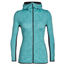 Away LS Zip Hood Showers Women Ocean/Monsoon
