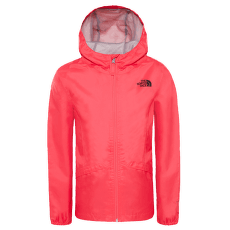 Zipline Rain Jacket Girls ATOMIC PINK