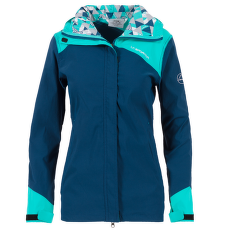 Pitch Jacket Women Opal/Aqua