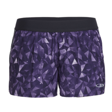 Comet Shorts Lattice Sky Women Aura/Vivid