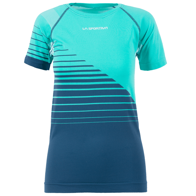 Escape T-Shirt Women Aqua/Opal