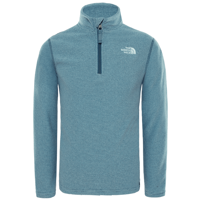 Glacier 1/4 Zip Girl SHADY BLUE STRP