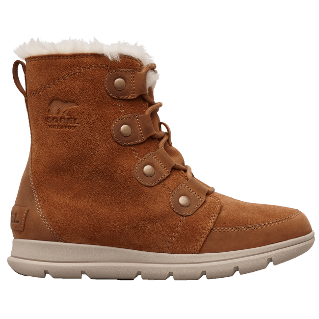 Sorel Explorer Joan Women CamelBrown, Ancient Fossil 224