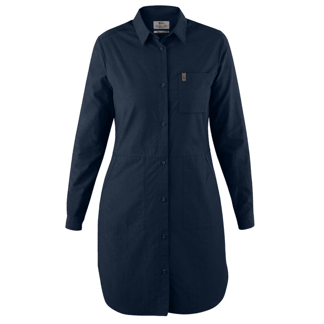 Övik Shirt Dress Women Dark Navy