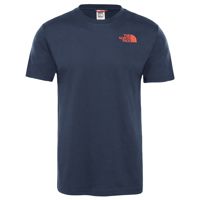 SS Redbox Celebration Tee Men URBAN NAVY/FIERY RED