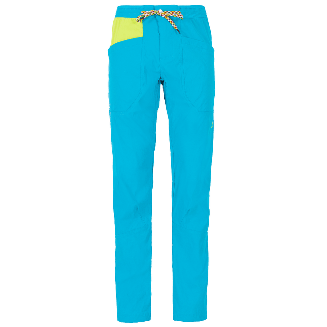 Talus Pant Men Tropic Blue/Apple Green