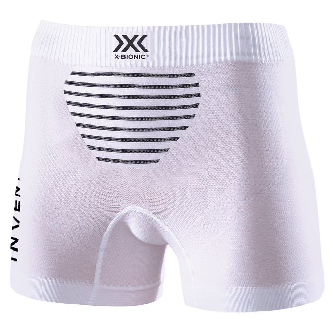 Invent® LT Boxer Shorts Women Arctic White-Dolomite Grey