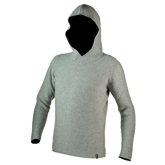 Fontaineblau Hoody Men Mid Grey