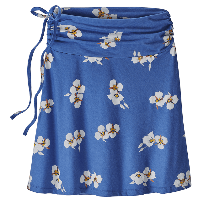 Lithia Skirt Women Mariposa Lily: Imperial Blue