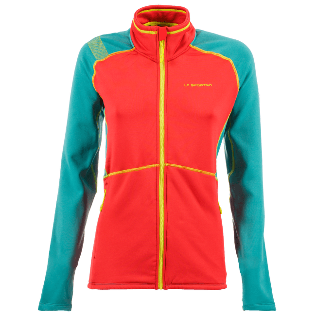 Luna Jacket Women Garnet/Emerald
