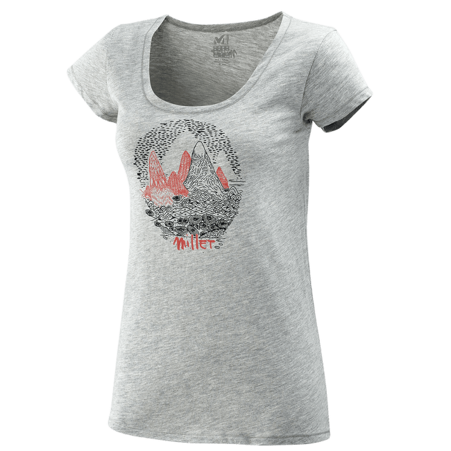 Isatis T-Shirt SS Women HEATHER GREY