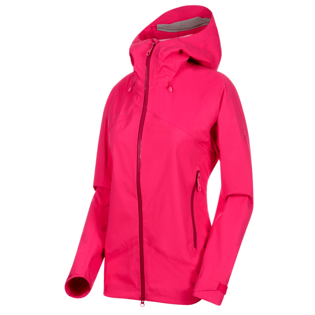Kento HS Hooded Jacket Women (1010-26840) pink 6085
