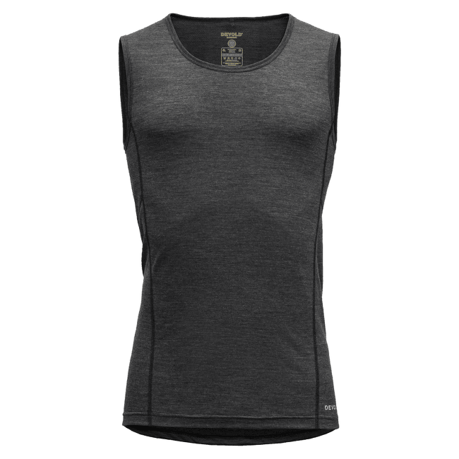 Running Singlet Men Anthracite